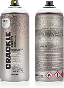Montana Cans Montana Crackle 400 ml Color, Pure White Spray Paint
