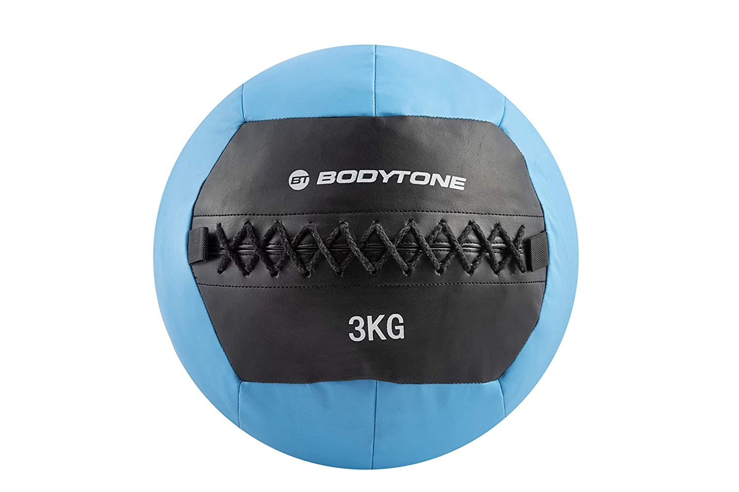 BT BODYTONE Soft Wall Ball de 3kg. Balón Medicinal de Color Azul ...