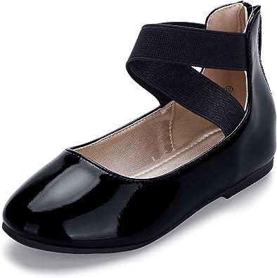 HEHAINOM Girls Dress Shoes Toddler
