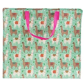Lama Rosa Storage Bag Zip Wäschekorb groß Shopping Home Kids Raum ...