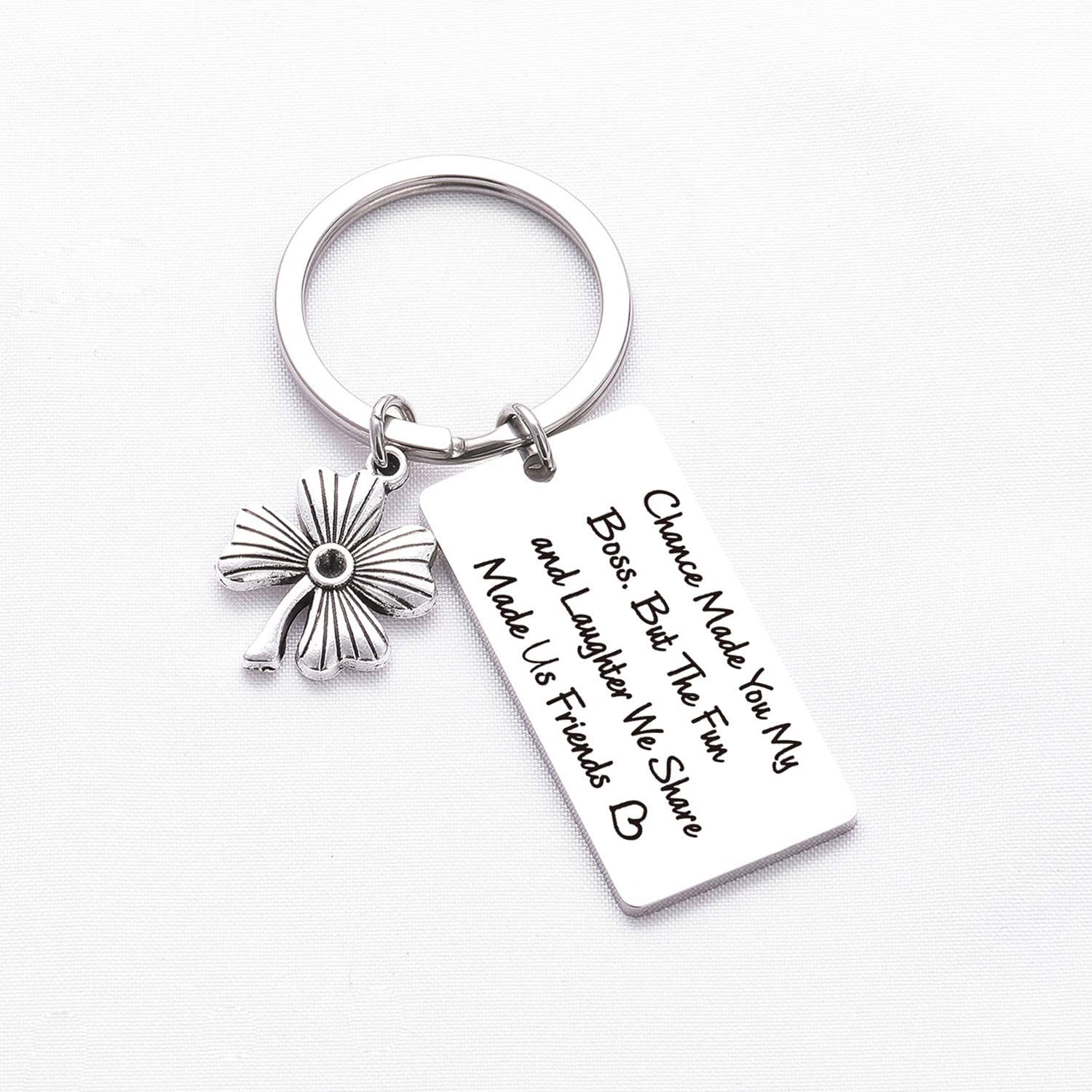 Boss Gift Mentor Keychain Coworker Moving Away Gift Leaving Coworker Gift Coworker Retiring Jewelry New Job Gift Boss Retirement Gift Coach Gift Boss Boss Keychain