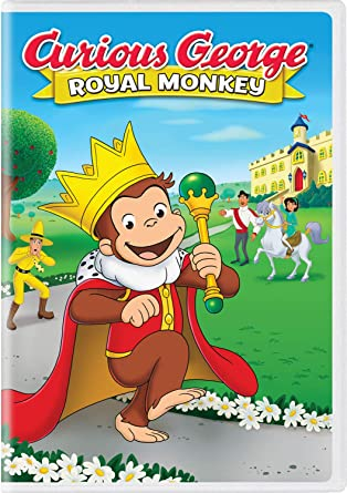 Amazon com: Curious George: Royal Monkey: Frank Welker, Jeff