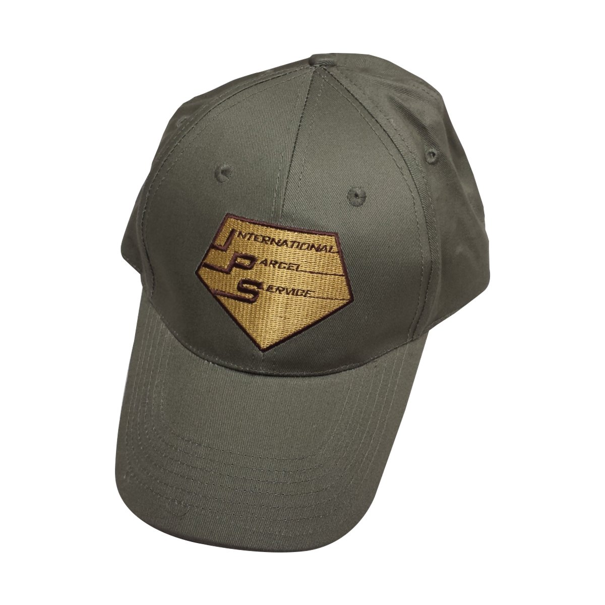 Doug Heffernan International Parcel Service Brown Baseball Cap MyPartyShirt