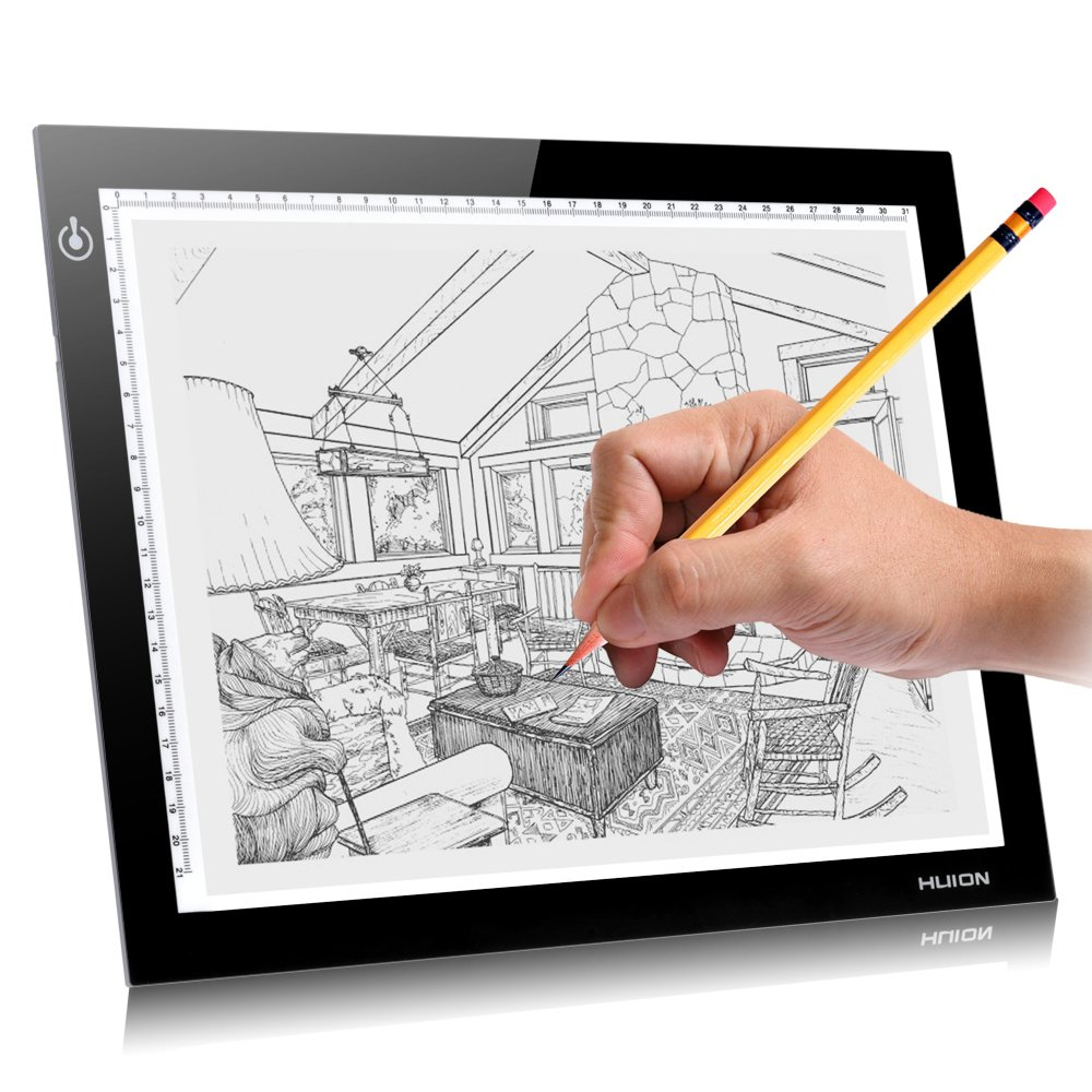 Huion L4S 12.2x8.3インチ LED Light Pad  LEDライトパッド B00NJN6M9S
