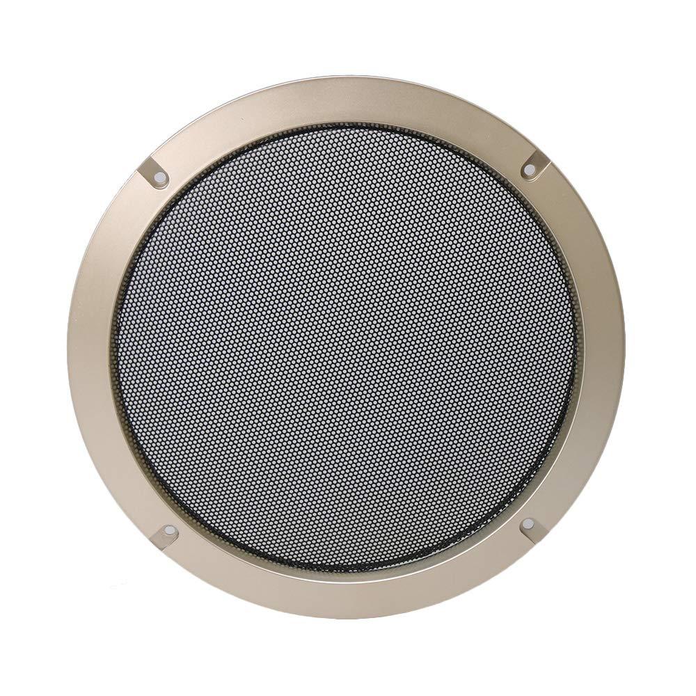 RDEXP - Rejilla para Altavoz de Coche de 8 Pulgadas con Cubierta de Malla Circular Decorativa para Altavoz: Amazon.es: Electrónica