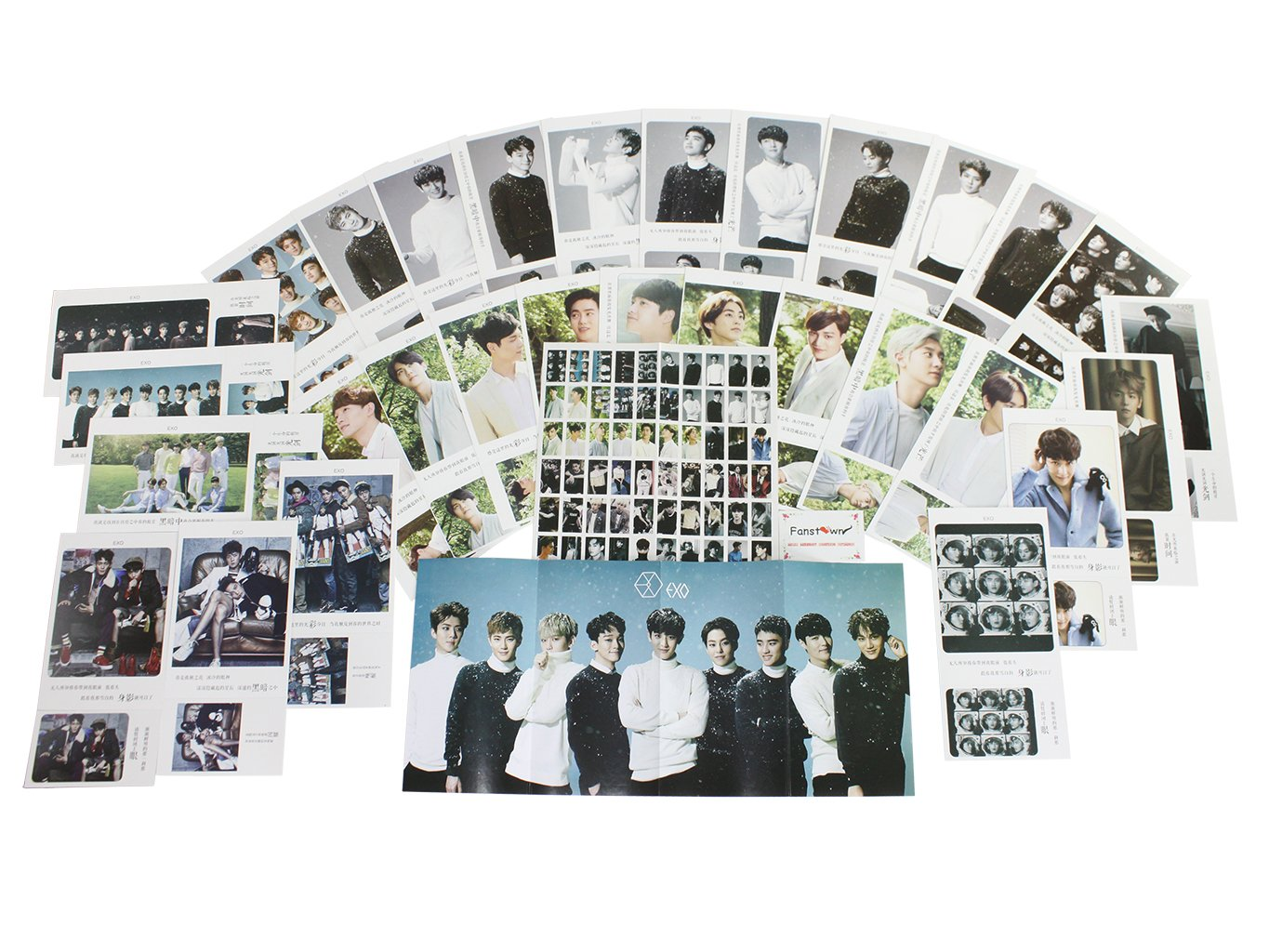 Amazon Fanstown KPOP EXO Postcard With Lomo Cards EXOplanet2 Office Products