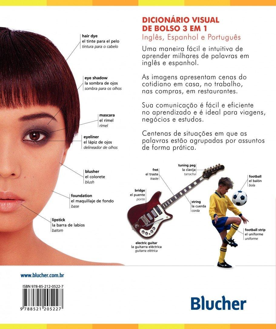 Dicionário Visual de Bolso. Espanhol/Inglês/Português (Em Portuguese do Brasil): Idiomas: 9788521205227: Amazon.com: Books
