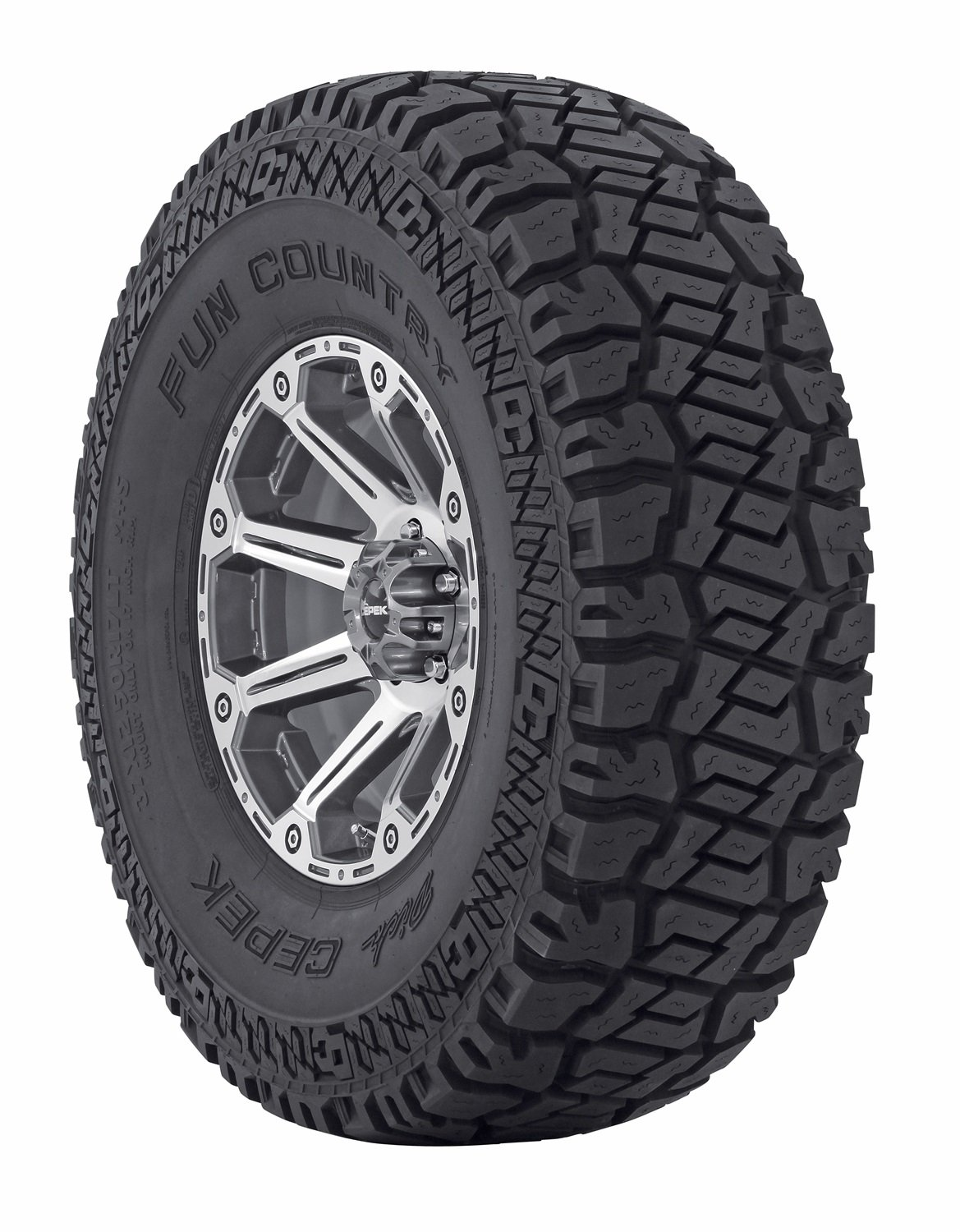 4. Dick Cepek Fun Country All-Terrain Radial Tire