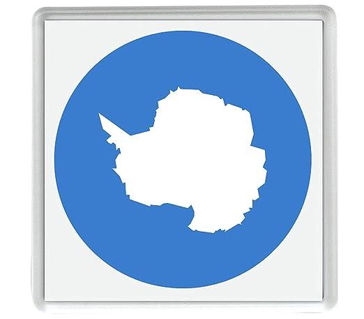 Bandera La Antártida Emoji 58mm x 58mm Nevera Imán/Flag for ...