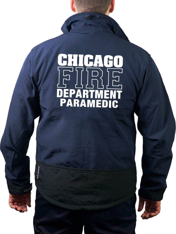 Softshelljacke navy, Chicago Fire Dept., PARAMEDIC PARAMEDIC feuer1