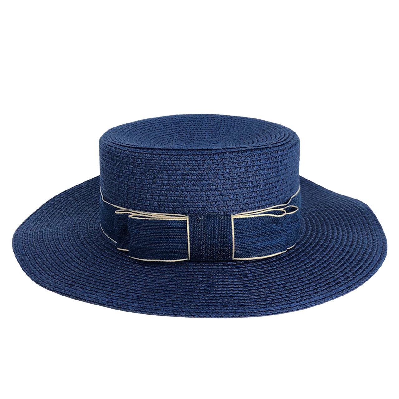 CHIC DIARY Women Bowknot Straw Hat Summer Fedoras Wide Brim Sun Hat QQUS07285