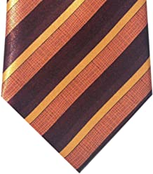 Classy and Traditional Neckties, Formal Men's Silk Fine Microfiber Ties