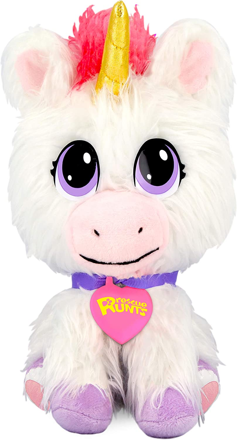 Groom /& Love! Unicorn NEW Rescue Runts Babies Series 1 Adoptable Pet That You Rescue