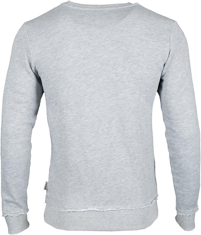 Boom BAP Herren Sweatshirt YLS Classic Mixed Grey