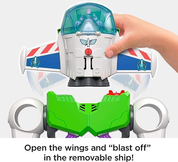 Fisher-Price Price Imaginext Disney Toy Story 4 Robot Buzz Lightyear, Juguetes Niños 3 Años (Mattel GBG65): Amazon.es: Juguetes y juegos