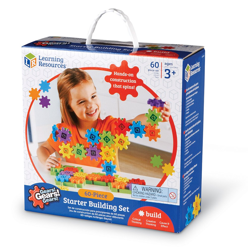 Learning Resources Gears! Gears! Gears! Starter Building Set, 60 Pieces by Learning Resources (Image #9)
