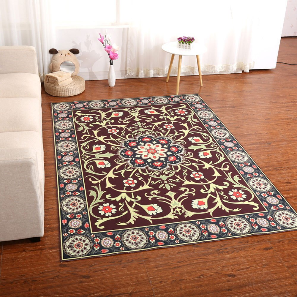 Amazon.com: XIAOPING Carpet, Living Room Sofa, Coffee Table ...