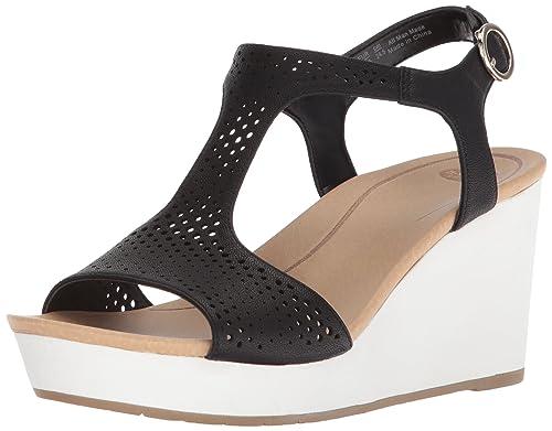 f0c1845bd5d414 Dr. Scholl's Women's Selma Wedge Sandal: Amazon.co.uk: Shoes & Bags