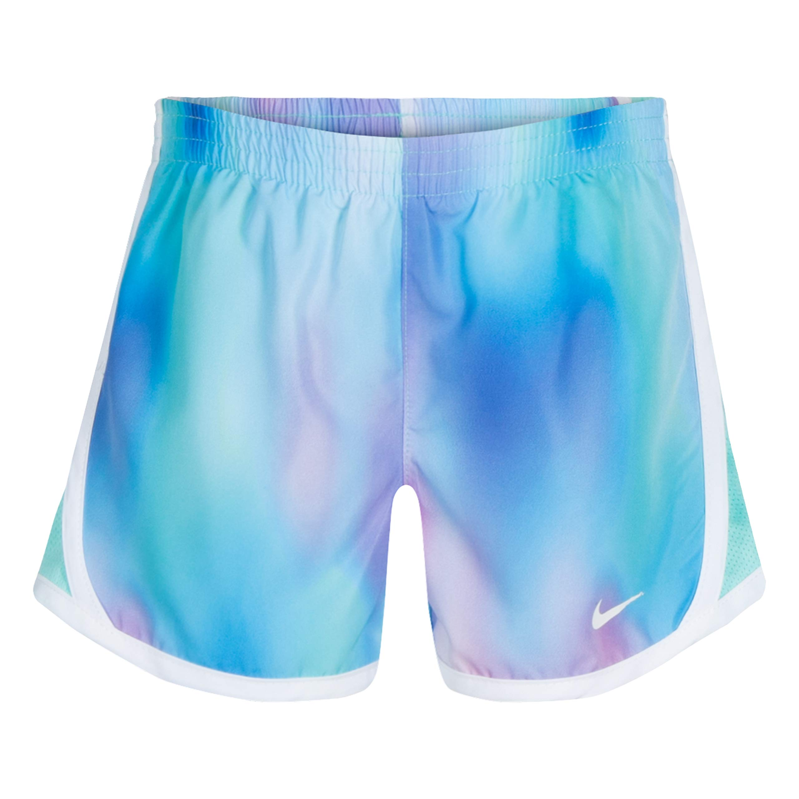 NIKE Children's Apparel Girls' Little Dri-FIT Tempo Shorts, Twilight Pulse, 6 by NIKE Children's Apparel