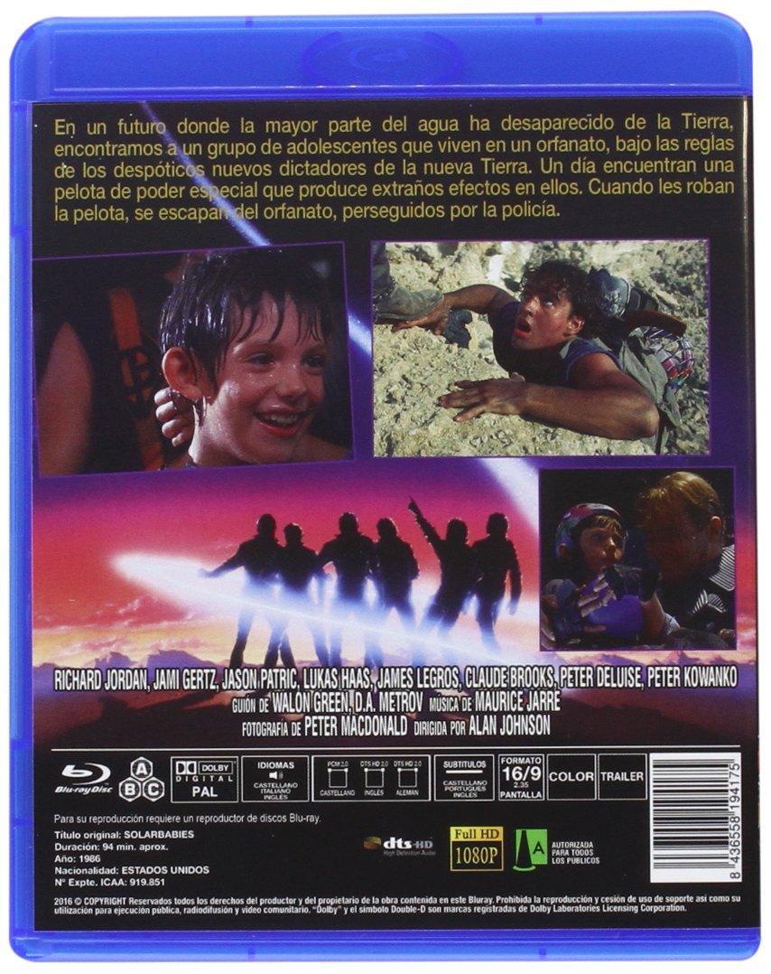 Guerreros del Sol BD 1986 Solarbabies [Blu-ray]: Amazon.es ...