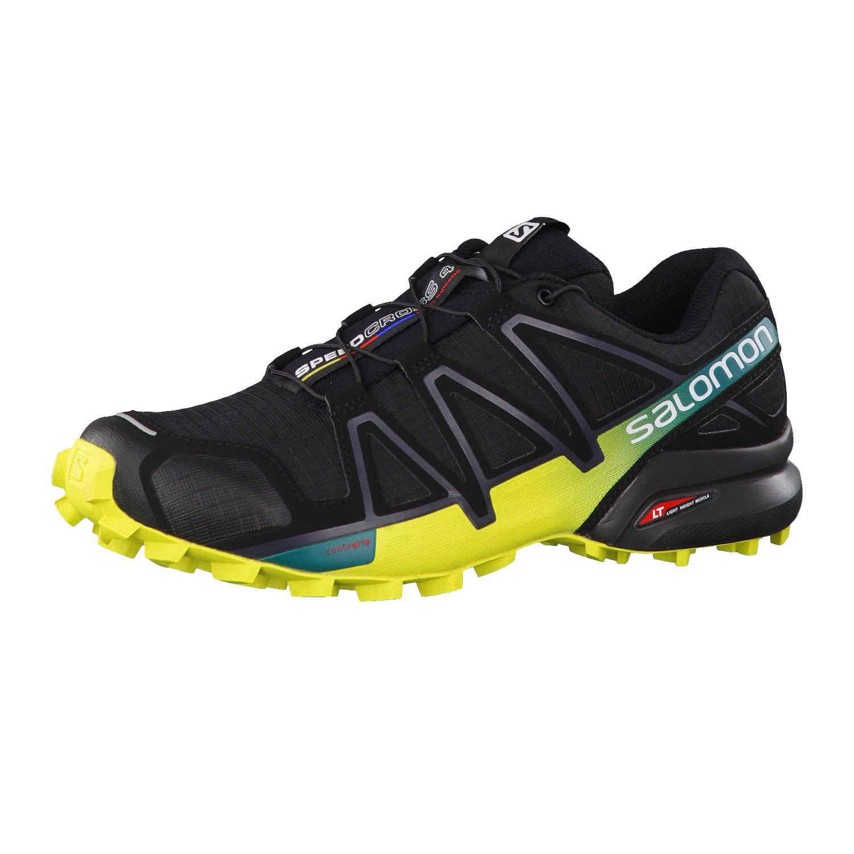 Salomon Men's Speedcross 4 Trail Running Shoes Black/Everglade 12