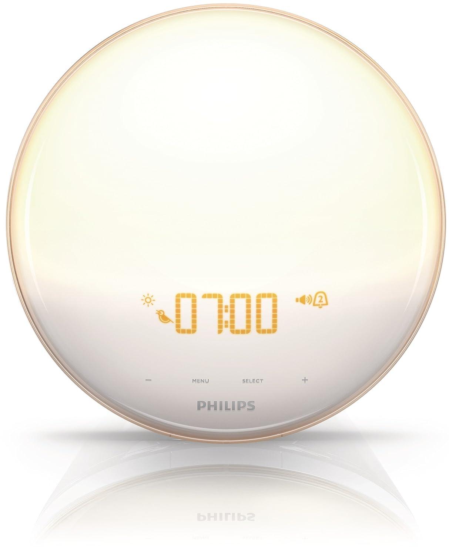 Amazon.com: Philips HF3520 Wake-Up Light With Colored Sunrise Simulation,  White: Health u0026 Personal Care
