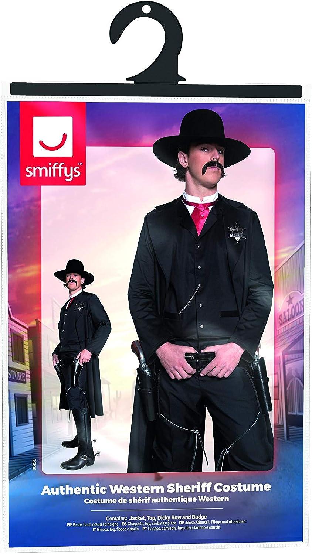 Smiffys Smiffys-36156M Policía Disfraz de Sheriff del Oeste ...