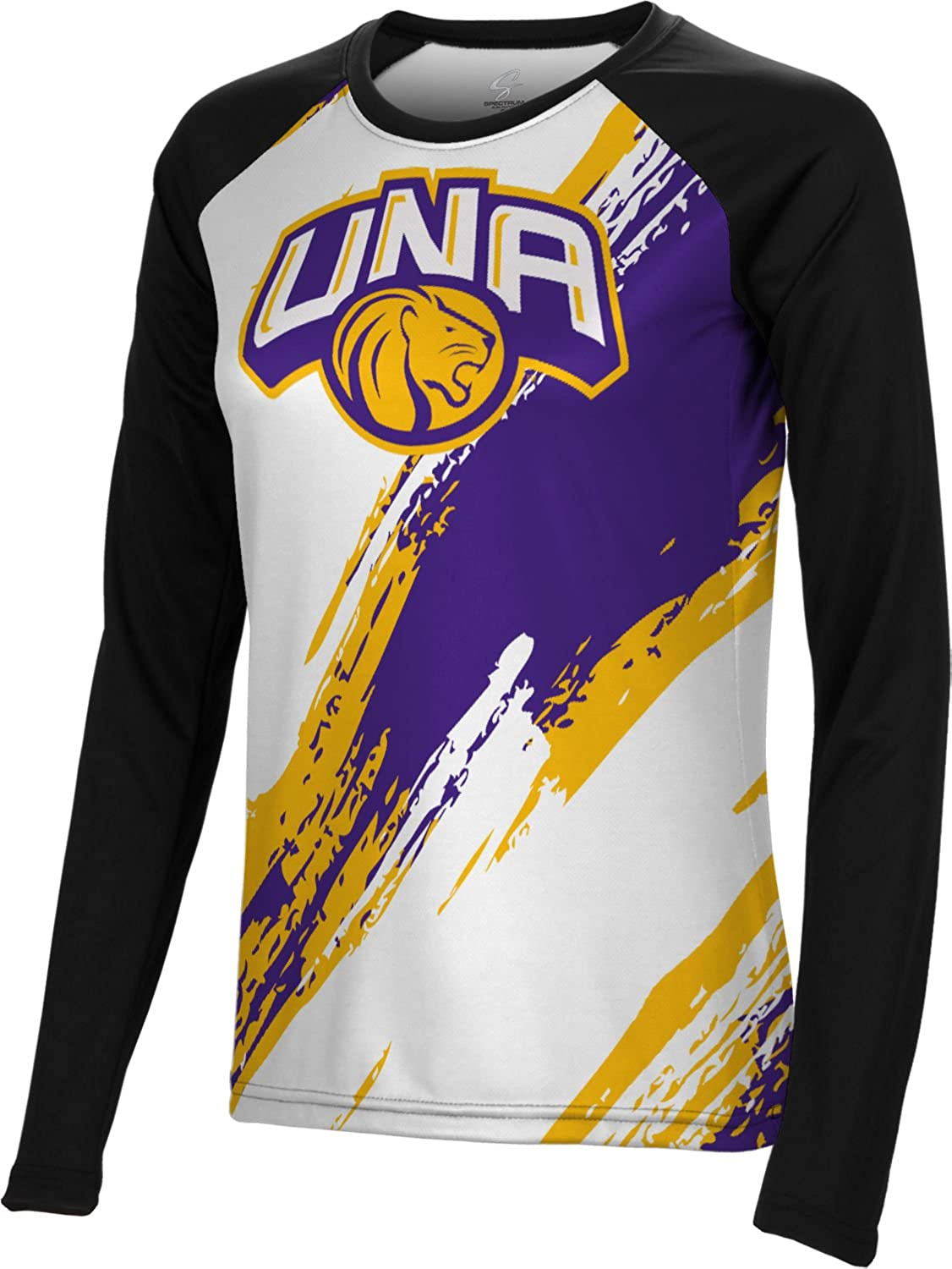 Spectrum Sublimation Women's University of North Alabama Scratch Long Sleeve