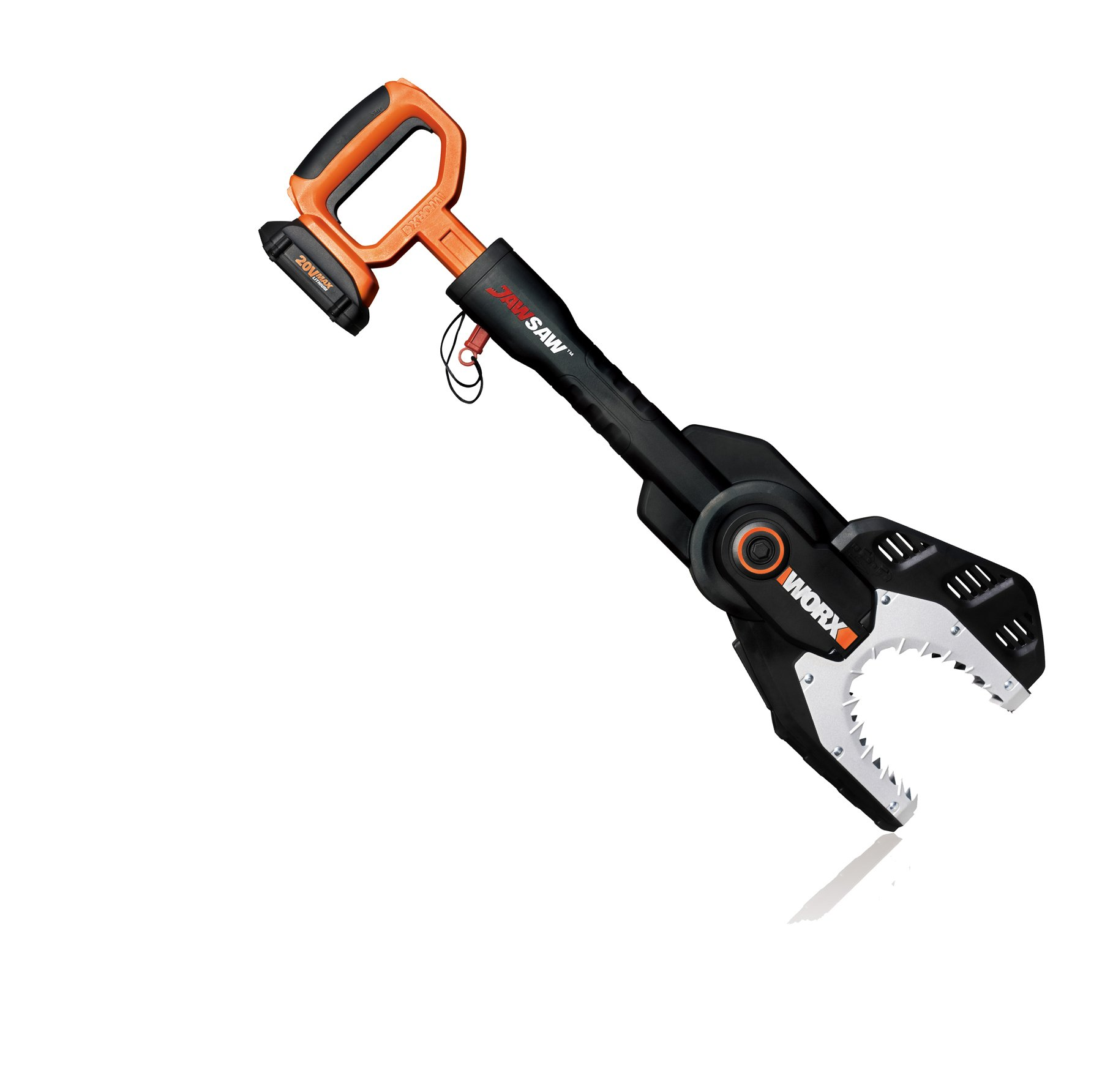 WORX WG320 Max Lithium Cordless Jawsaw Chain Saw, 20-volt, Battery and Charger Included by Worx