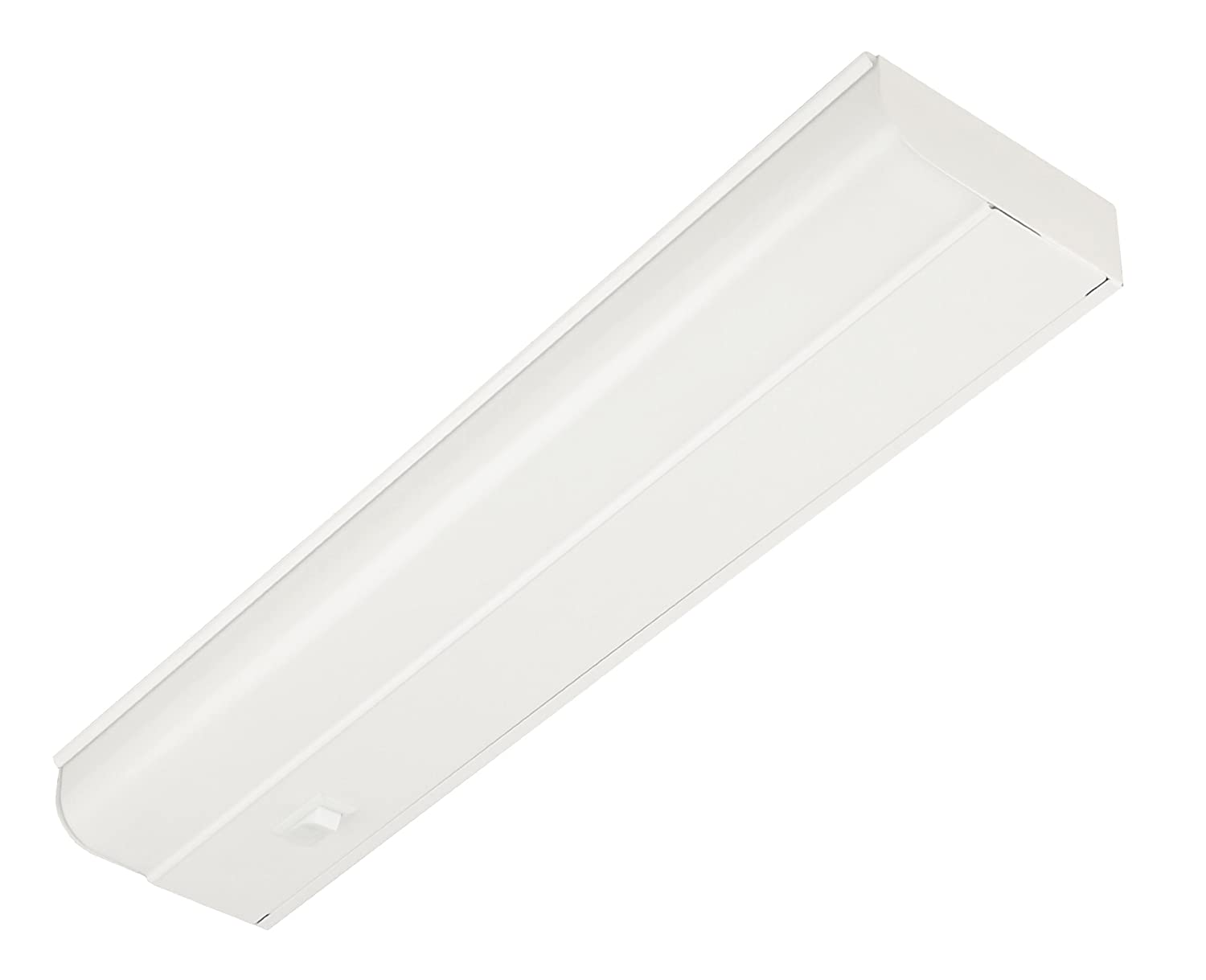 Good Earth Lighting G9318D-T8-WHI 18-Inch Under Cabinet Fixture with Direct Wire, White