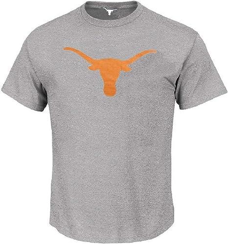 Silueta de Texas Longhorns Mens gris camiseta de manga corta por 289 C prendas de vestir, gris: Amazon.es: Deportes y aire libre