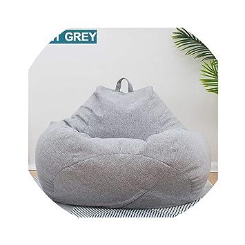 Astounding Acomy Bean Bag Sofa Single Chair Cover Lounger Sofa Ottoman Creativecarmelina Interior Chair Design Creativecarmelinacom