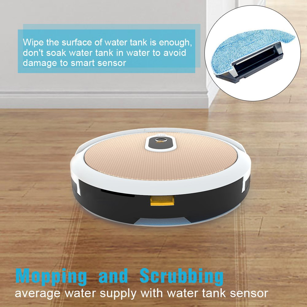 Robot Vacuum Cleaner and Mop IMASS A3-WGD Robot Cleaner with Wi-Fi Connectivity App Control...
