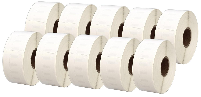 500 Etiketten pro Rolle 30 Rollen 11355 S0722550 19mm x 51mm Etiketten kompatibel f/ür Dymo LabelWriter 4XL 450 400 330 320 310 Twin Turbo Duo Seiko SLP 450 430 420 400 240 220 200 120 100 Pro Plus