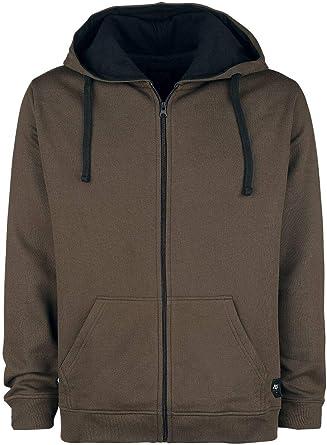 Black Premium by EMP Mask of Sanity Sweat Shirt zippé à