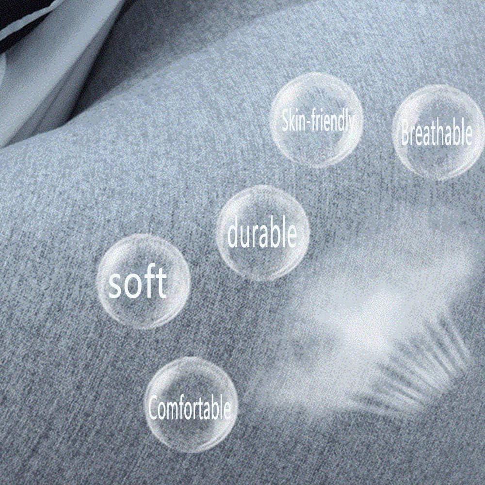 Yaowen Grand pouf pour l\'extérieur et intérieur en tissu Lazy, gris foncé Gris Foncé