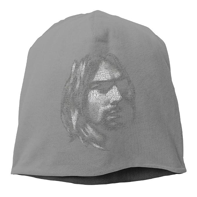 Nirvana Band Kurt Cobain Beanie Hat Knit Slouchy Hat Toboggan Winter Hat   Amazon.ca  Clothing   Accessories 53e09d83a18