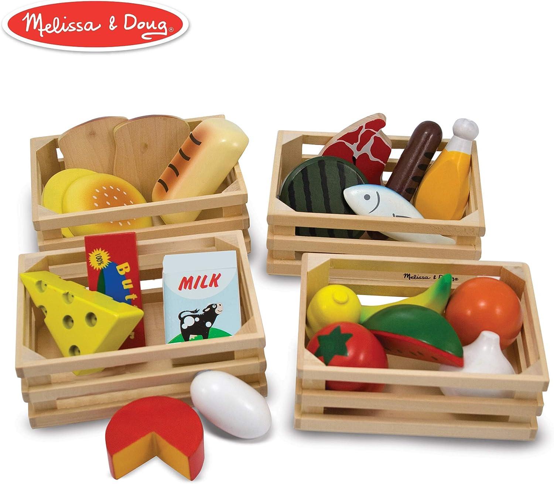 Melissa & Doug Nahrungsmittelgruppen - Kinder Marktstand