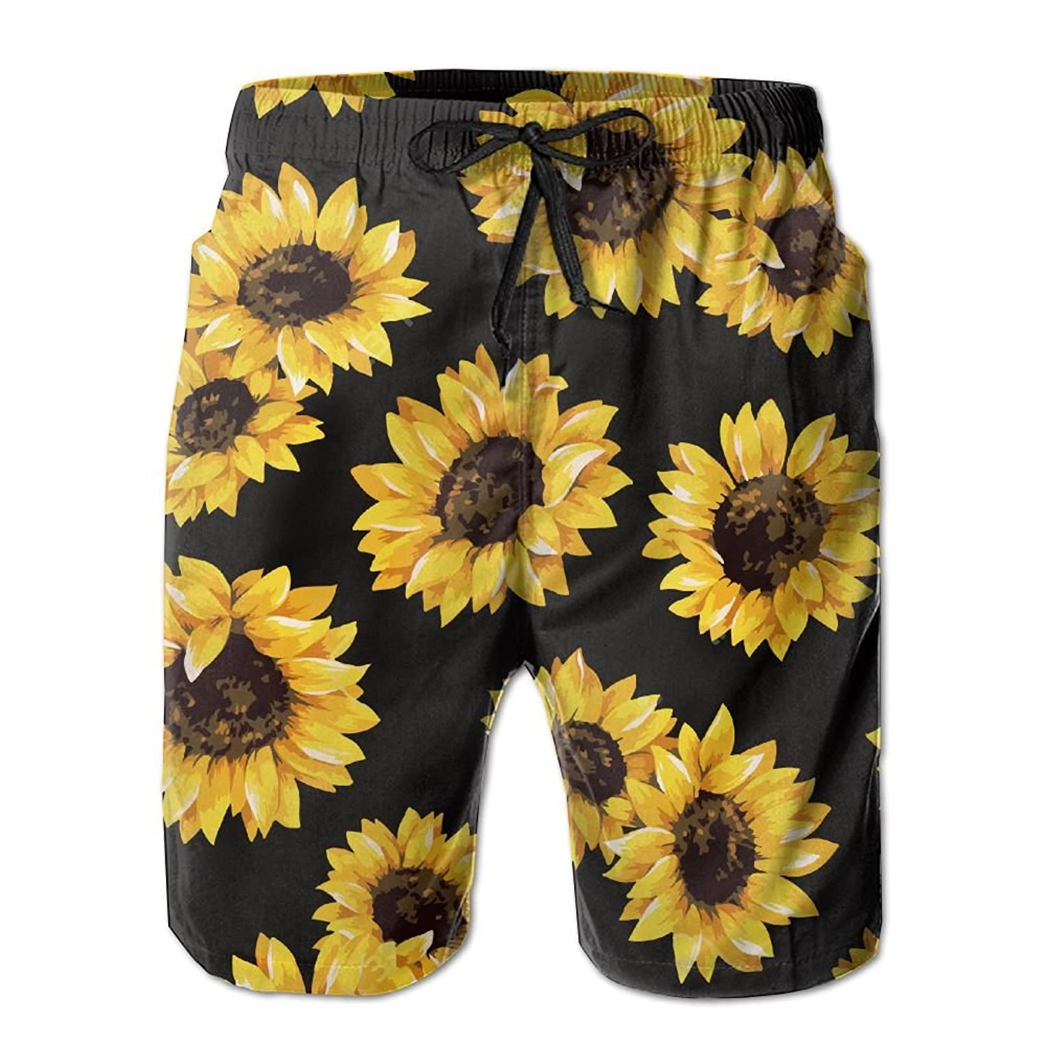Mens Camouflage Texture Summer Beach Quick Dry Shorts Swimming Trunks Cargo Shorts Beach Trunks