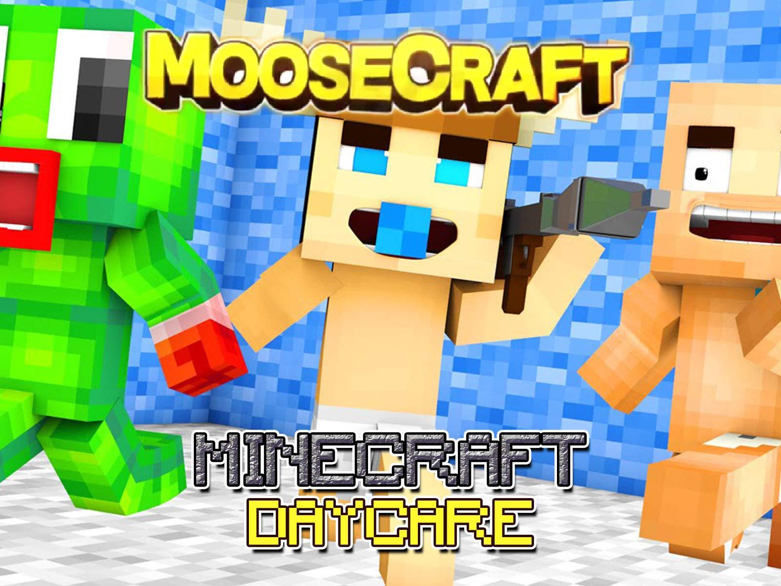 Clip: Moosecraft - Minecraft Daycare on Amazon Prime Video UK
