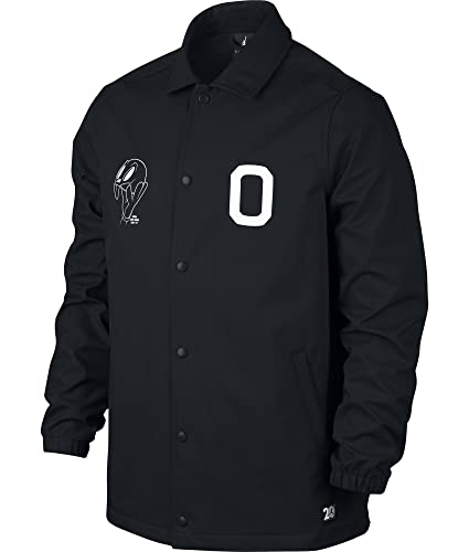 Amazon.com  Nike Mens Air Jordan 11 Jacket Black White Small  Sports ... b54a253db