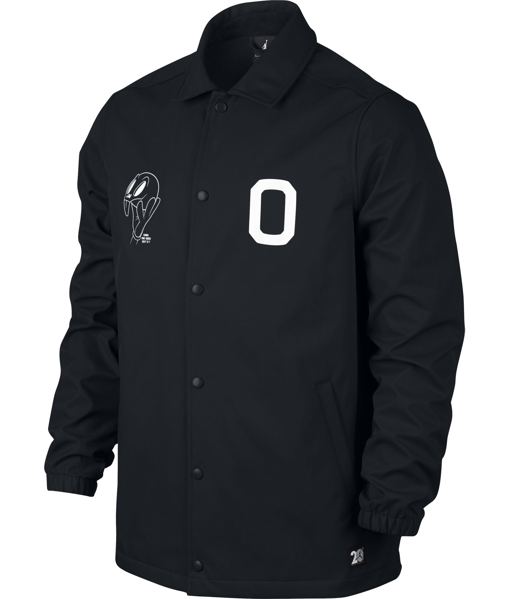 Nike Mens Air Jordan 11 Jacket Black/White X-Large by Jordan