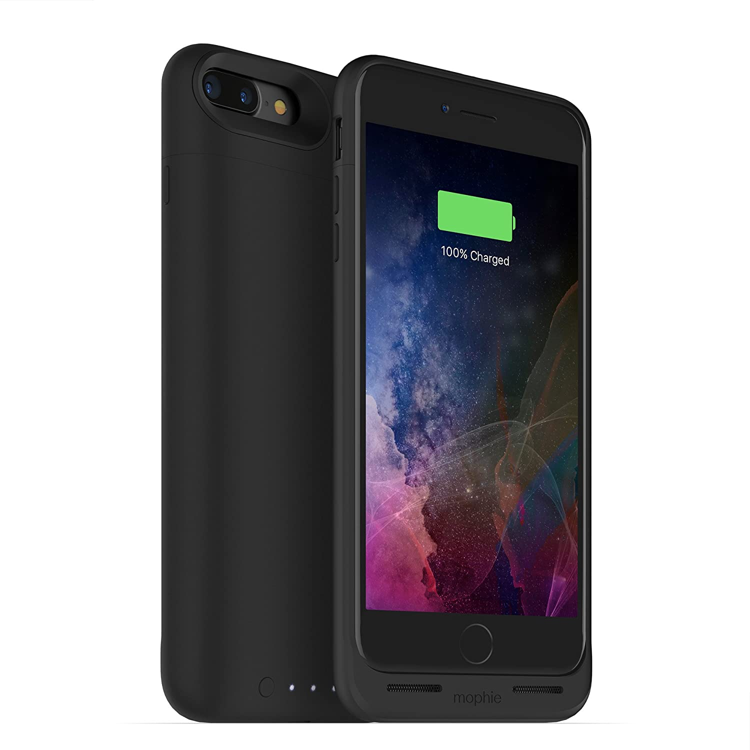 on sale 5c6d7 1221c ZAGG mophie 3679_JPA-IP7P-BLK juice pack wireless - Charge Force Wireless  Power - Wireless Charging Protective Battery Pack Case for iPhone 7 Plus –  ...