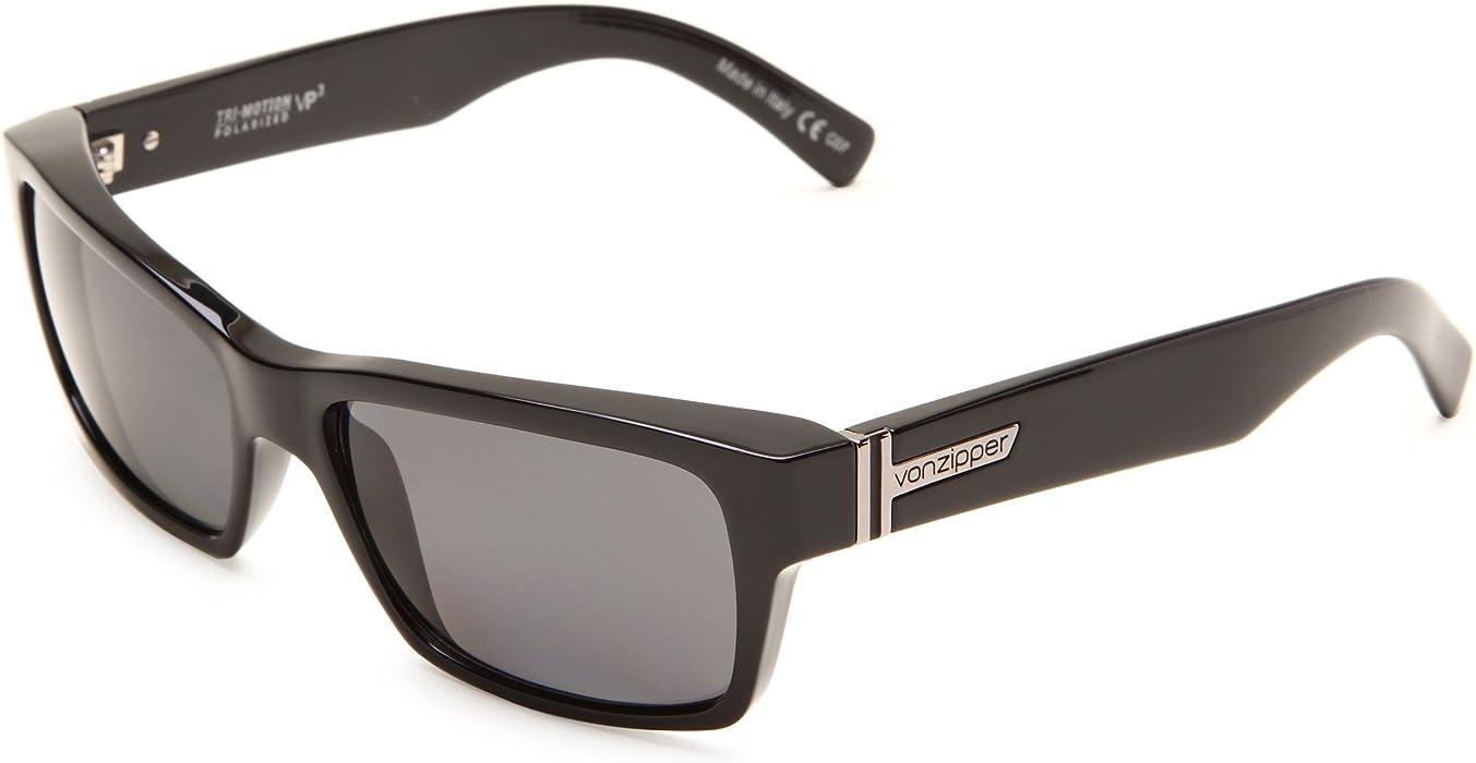 2fb15c91afe Amazon.com  VonZipper Fulton Polarized Square Sunglasses