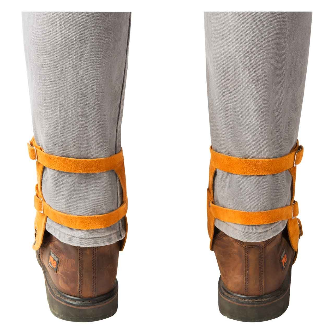 Steiner 12184 Leather Side Split Cowhide Shoe Spats, One Size by Steiner (Image #2)