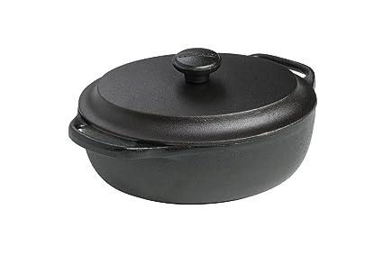 SKEPPSHULT 5000 - Cacerola y cazuelas de Barro, Color Negro ...