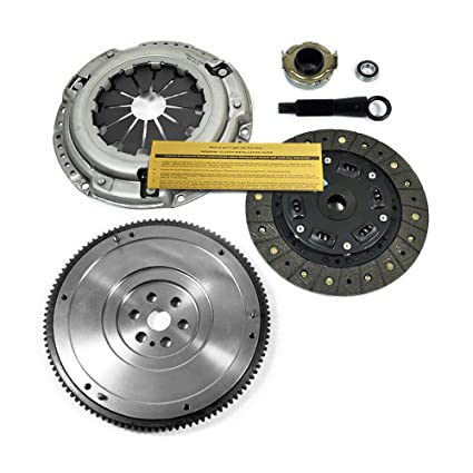 Amazon.com: EFT CLUTCH KIT & NODULAR FLYWHEEL HONDA CIVIC fits all model with 1.5L 1.6L 1.7L: Automotive