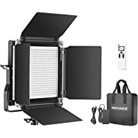 Neewer Advanced 2.4G 660 LED Video Light, Dimmable Bi-Color LED Panel with LCD Screen and 2.4G Wireless Remote for…