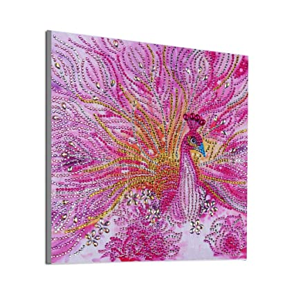 Flowers DIY 5D Diamond Painting Embroidery Cross Stitch Craft Arts Wall Decor