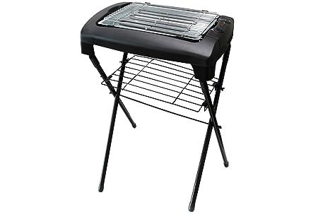 Severin Elektrogrill Aufbauanleitung : Stand elektrogrill kynast grill tischgrill schwarz 2000 watt: amazon
